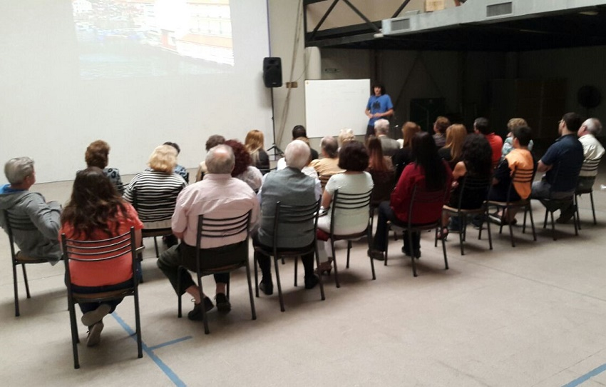 In Mendoza, a talk and documentary