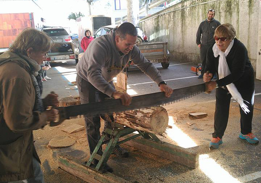 Wood choppers from Saladillo