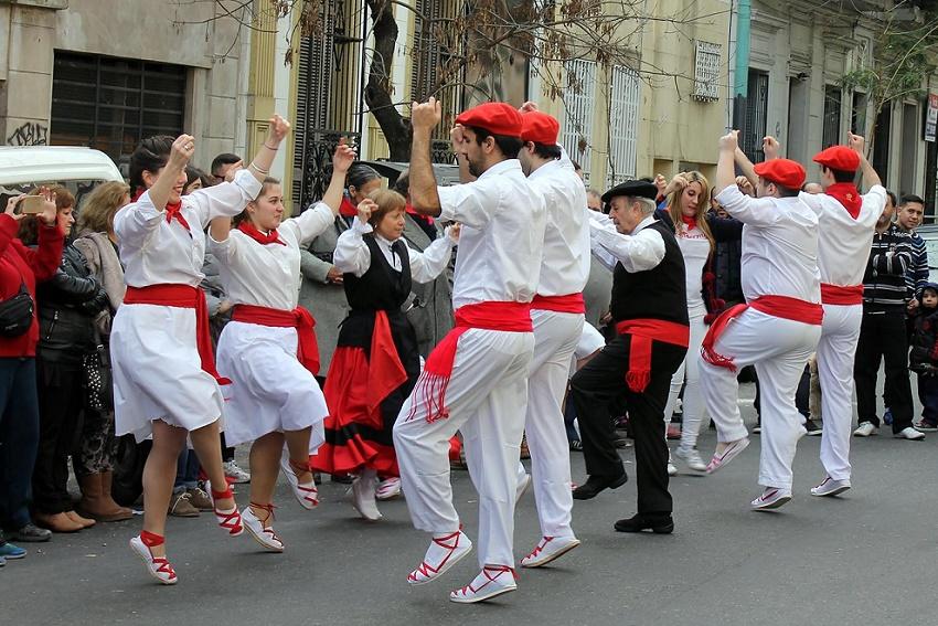 Dances from Navarre in Almagro