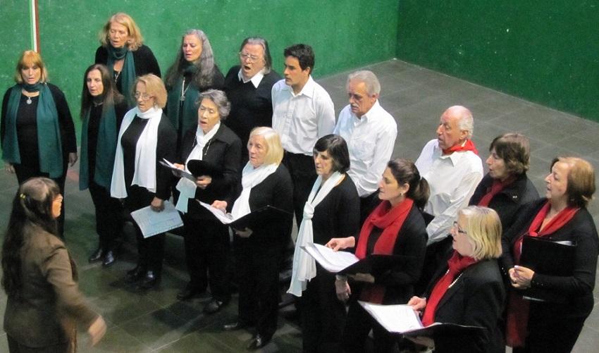 Participación del coro