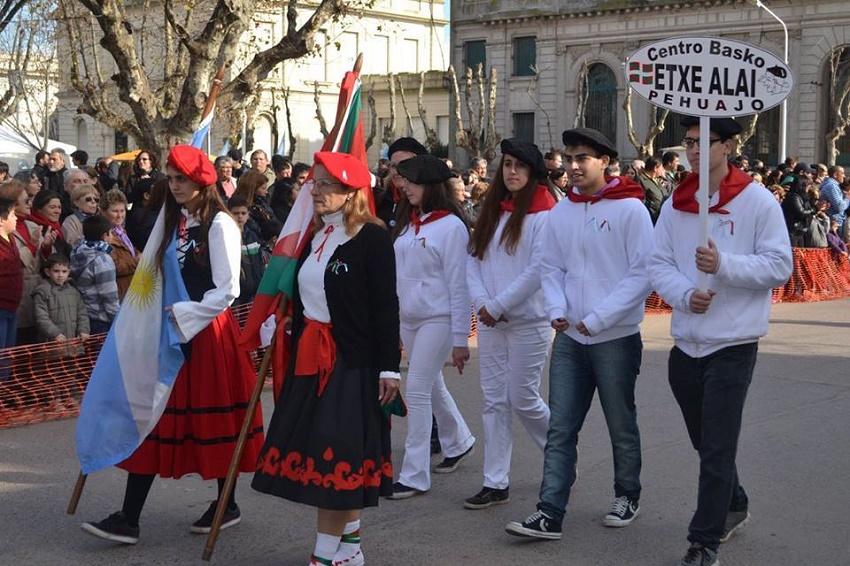 Parade in Pehuajo