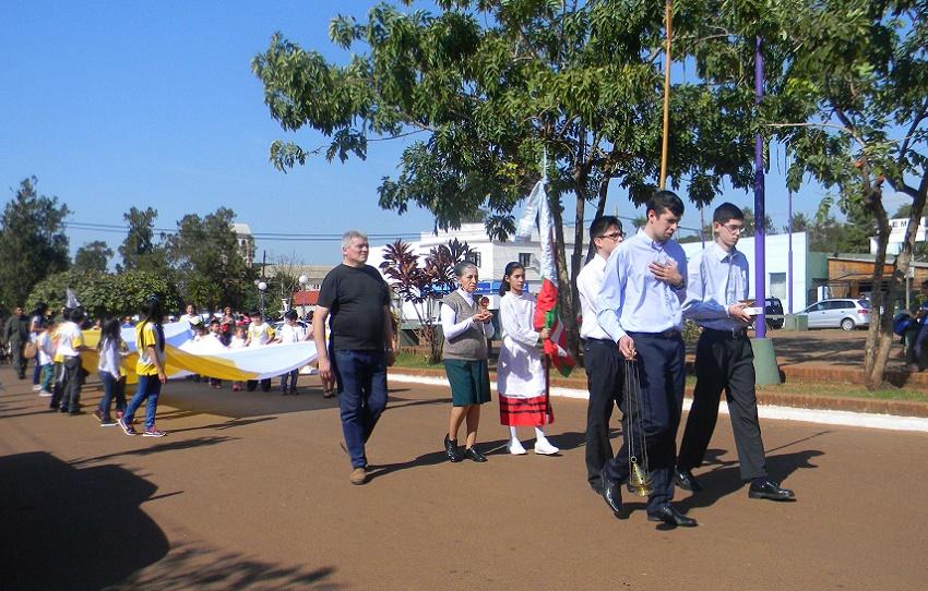 Los vascos en la procesión