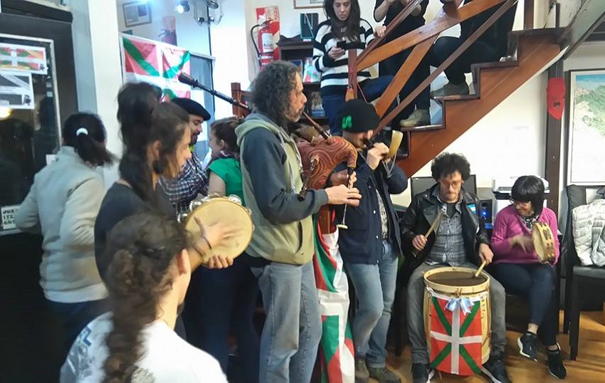 All the instruments played Basque music