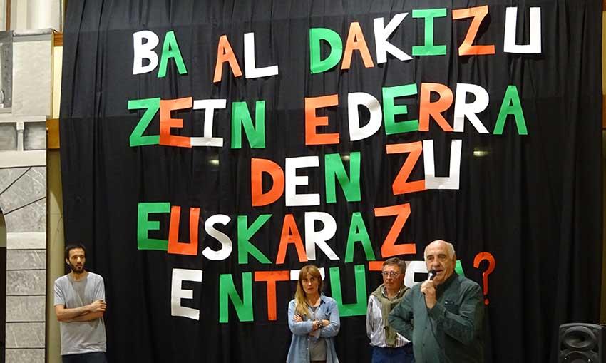 El euskera patrimonio común