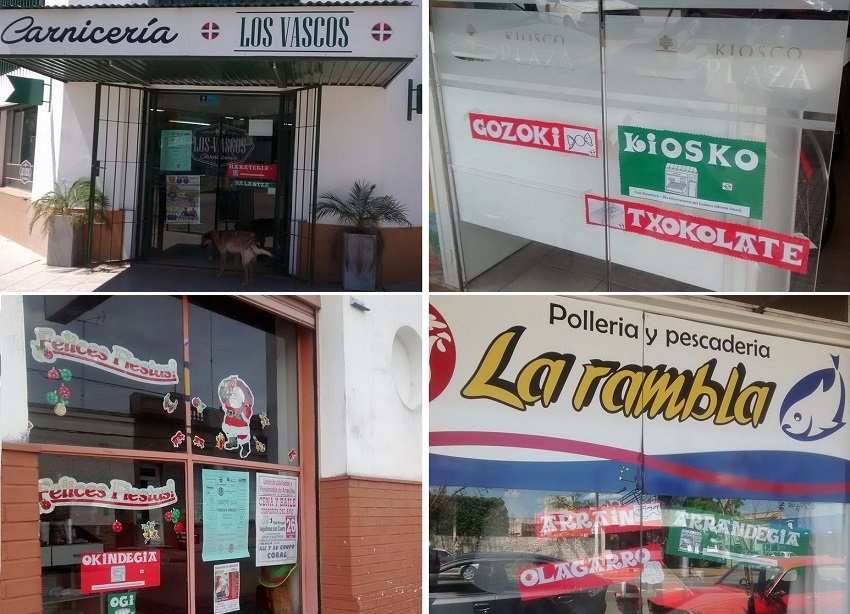 Businesses in Arrecifes in favor of Euskera