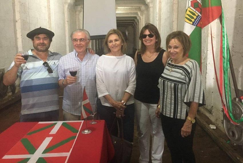 Euskal Etxeko oraingo eta lehengo lehendakariak
