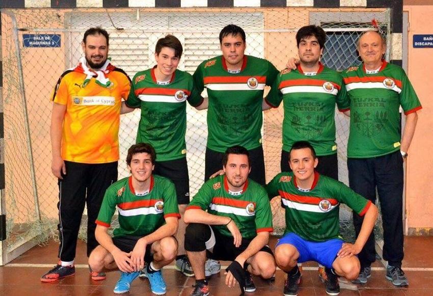 Gizonezkoen euskal futbol taldea