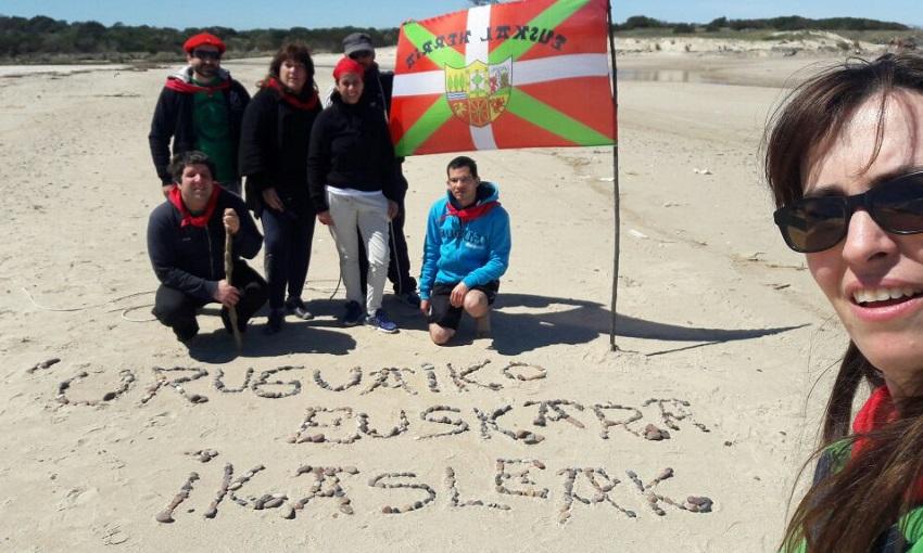 Uruguaien, euskara hutsean bizi