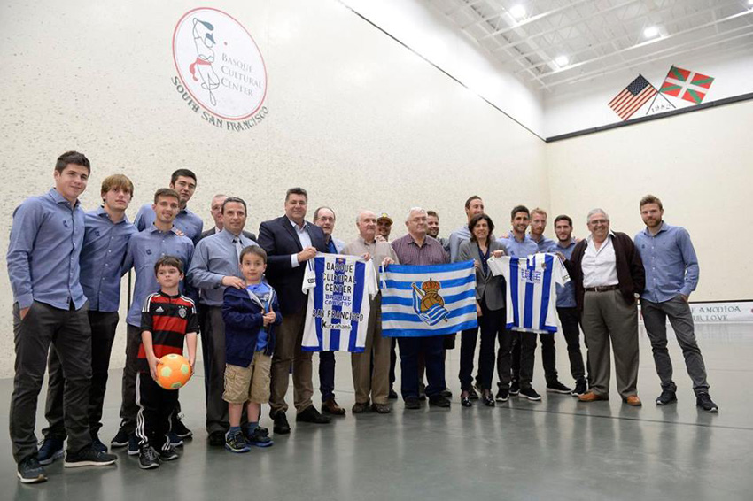 Real Sociedad in San Francisco