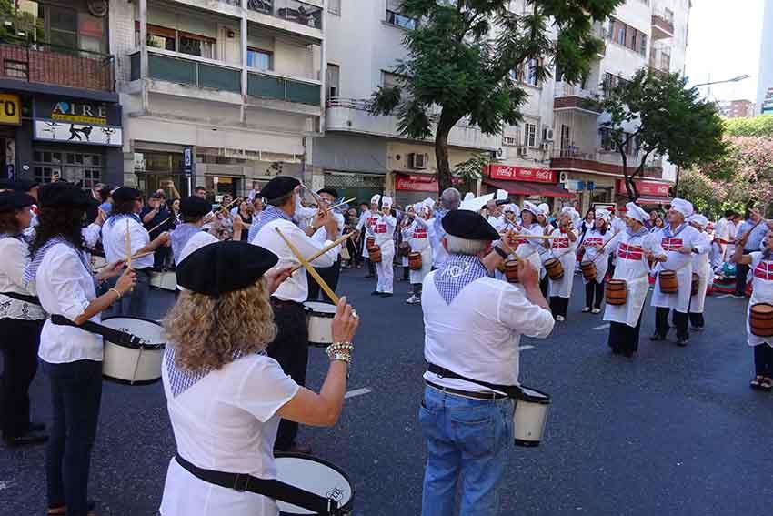 Danborrada Donostia style