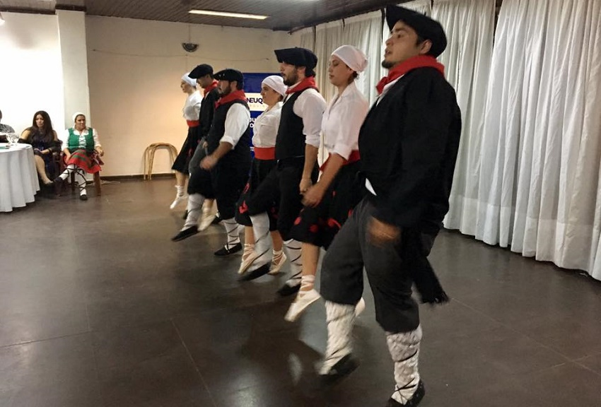Dancers from Bariloche