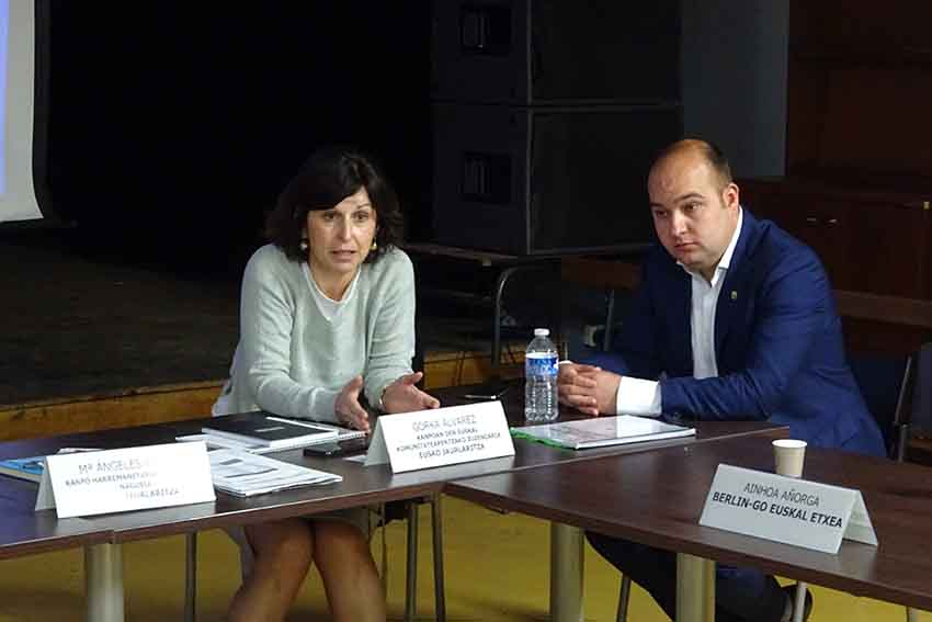 In charge of Diaspora Affairs at the Basque Government