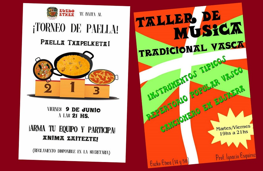 Paella contest and music workshop