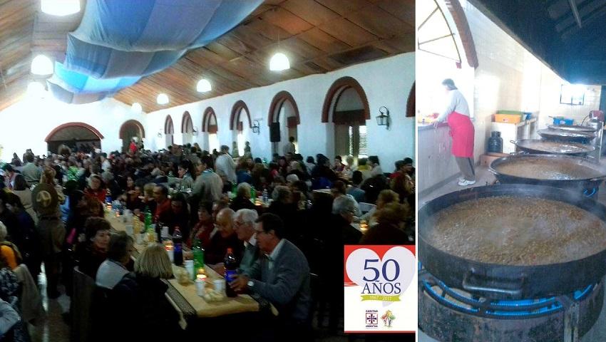 Caritas-en 50. urteurrena