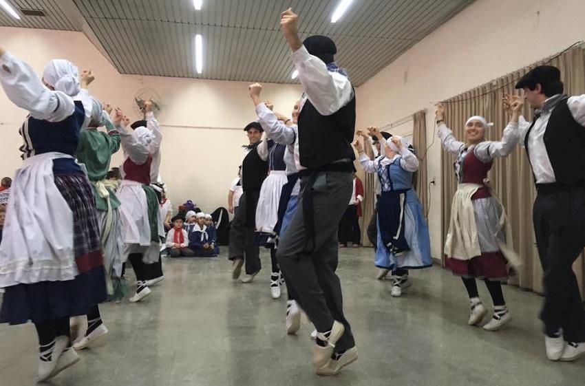Beti Aurrera dancers at Union Vasca Basque Club