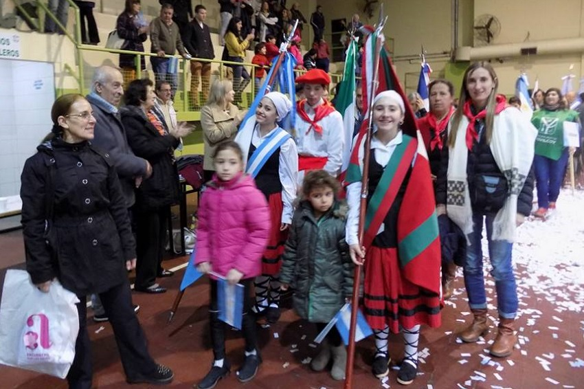 Basque club delegation form the Beti Aurrera