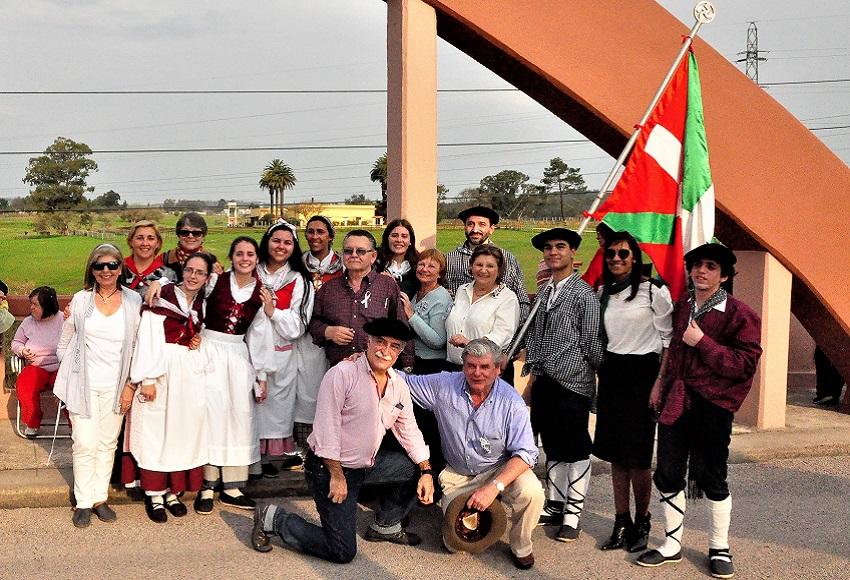 Basque representation at the ceremony