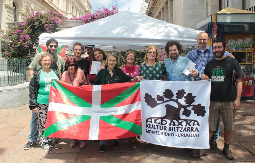 Participaron jóvenes de Euskal Herria