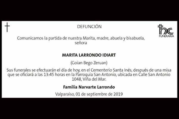 Marita Larrondo Idiart
