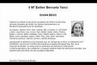 Maria Esther Berrueta Yanci