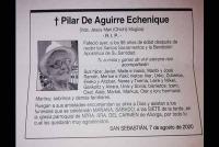 Pilar De Aguirre Echenique