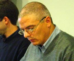 El profesor César Arrondo, secretario general de EA Argentina (foto ZBEE)
