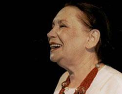 La compositora israelí Naomi Shemer