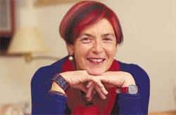 La escritora Mariasun Landa (foto J.Usoz)