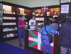 Foto de archivo del stand de la Fundación Vasco Argentina Juan de Garay (foto euskalkultura.com)