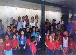 Grupo de niños y niñas en Eusko Etxea de Caracas