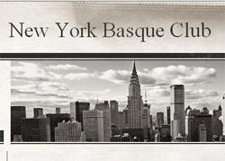 Una imagen de la página de inicio de la nueva web del centro vasco neoyorquino, fundado en 1913