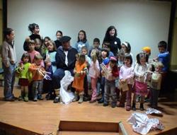 Los niños del Haur Txoko serán los protagonistas de la Korrika de Madrid (foto Madril EE)