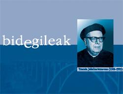 La biografía de Txomin Jakakortexarena, obra del académico Xabier Kintana, puede descargarse desde ya de forma gratuita a través de la red