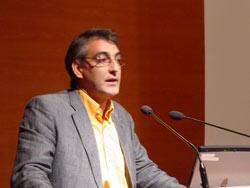 Alfredo Asiainek ondare inmateriala gordetzearen garrantziaz aritu zen (argazkia BasqueHeritage.com)