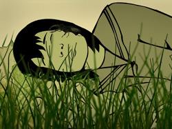 Una imagen del cortometraje 'Midori', dirigido por el realizador donostiarra Koldo Almandoz