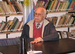 Hector Humberto Demichelis, Gral. Rodriguezeko Eusko Aterpea EEak antolatzen duen 'Palabras Mayores' zikloko  protagonista