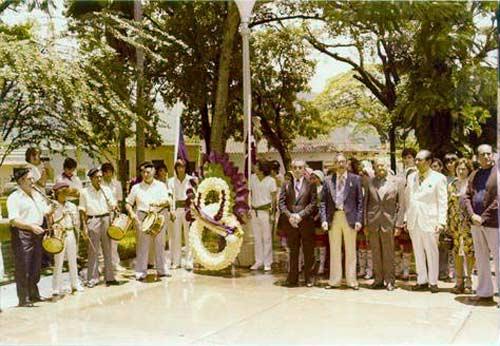 Valenciako Euskal Etxearen inaugurazioa 1975ean