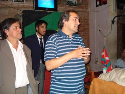 Acto y día fundacional del Centro Vasco Gure Etxea de Salta, Argentina, el 3 de diciembre de 2008