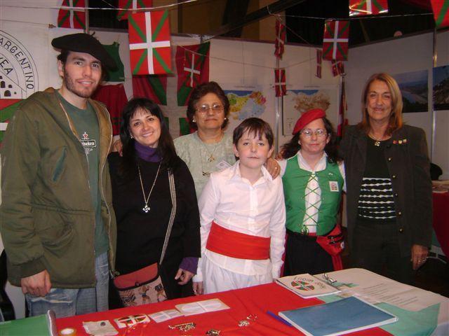 Santa Feko Gure Etxea Euskal Etxekoen stand-a 2008ko bertako Gizataldeen Azokan