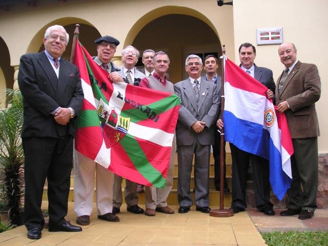 Paraguaiko Euskal Etxearen Zuzendaritza Batzordea
