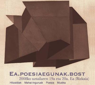 Posteren 'Poeta a-sozialaren buruezurra' irudia