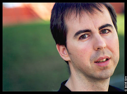 El escritor getxoztarra Unai Elorriaga (foto ZaldiEro)