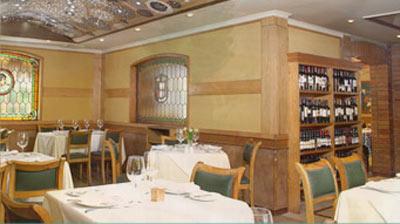 Interior del restaurante Pinpilinpausha