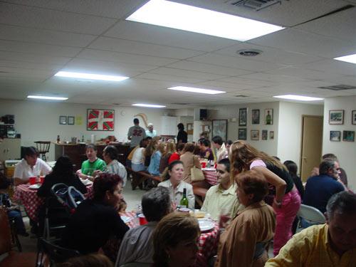 Imagen de 'Txoko-Alai', Euskal Etxea de Miami durante un encuentro (foto EuskalKultura.com)