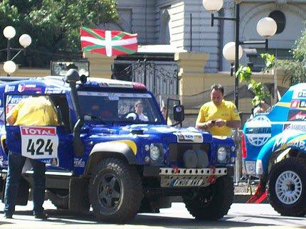 Lasterketaren hasiera, 2010eko urtarrilaren lehenean Buenos Airesen.