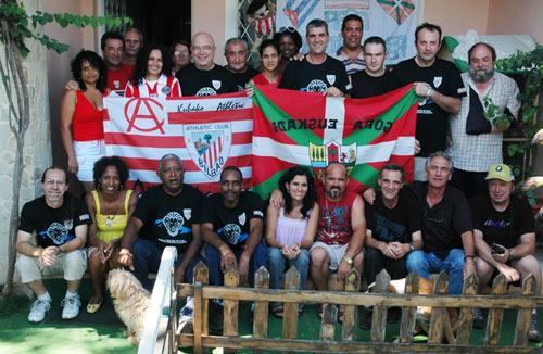 Biltzarreko talde-argazkia, Kubako peña athleticzalearen lehenengo urtebetetze biltzarrean