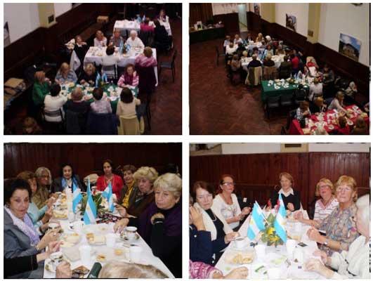 La Asociación de Mujeres Vascas de Rosario también celebró el Bicentenario