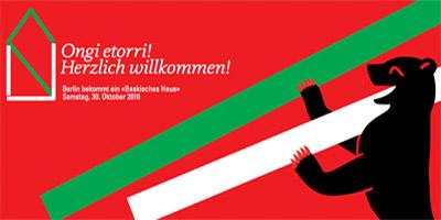 Cartel de la presentación de la Euskal Etxea de Berlín