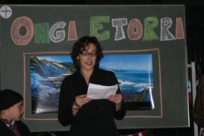 Ainhoa Añorga, Berlineko 'Gernika' Euskal Etxeko lehendakaria (argazkia BerlinEE)