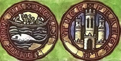 Euskal baleazaleei buruzko mintegia egingo dute urtarrilean UCSB-n (argazkian, balea Hondarribiko armarrian)